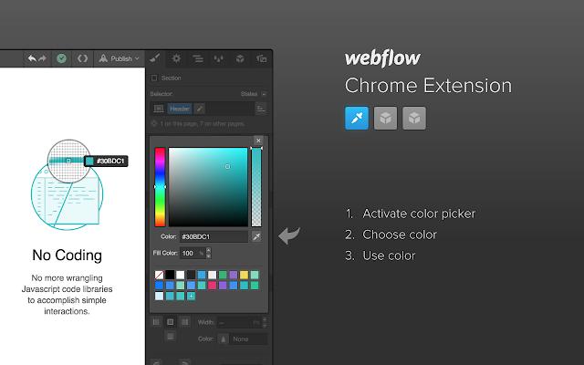Webflow Chrome Extension