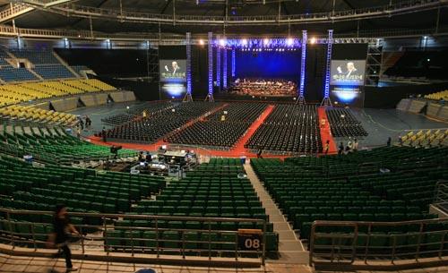olympic hall