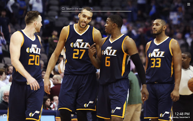 Utah Jazz HD Wallpapers New Tab Theme