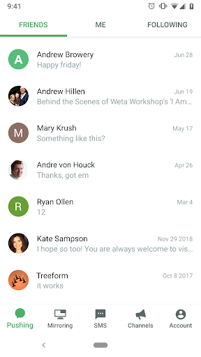 Pushbullet - SMS on PC and more screenshots 6