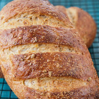Cracked Wheat Berry Bread -- A Bread Machine.