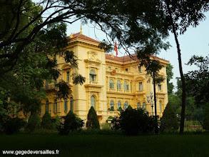 Photo: #013-Le Palais présidentiel à Hanoi