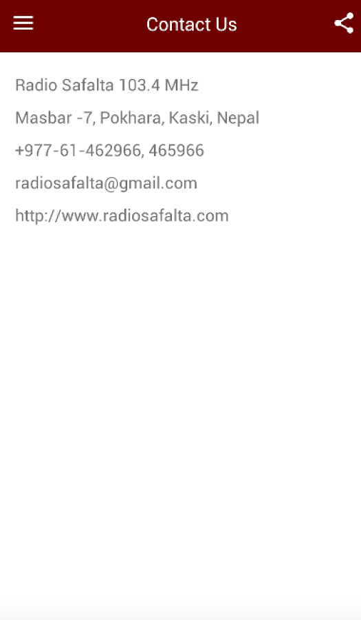 Radio Safalta- screenshot