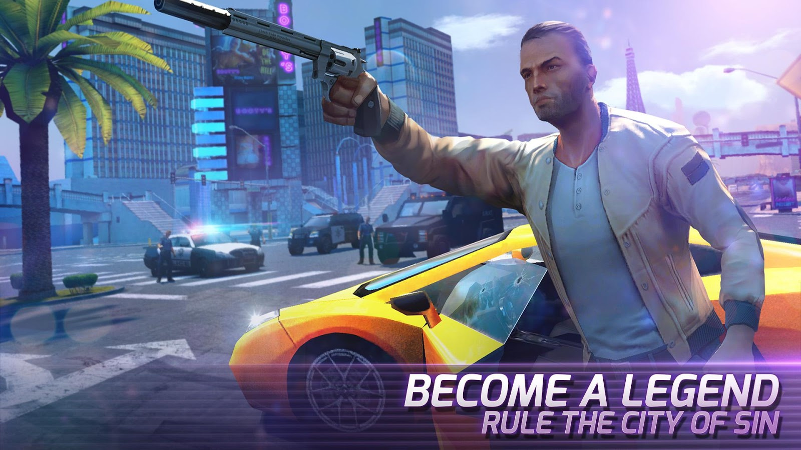 Screenshots of Gangstar Vegas for iPhone