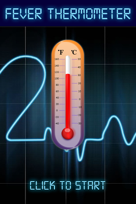 Fever Thermometer Check Prank - screenshot