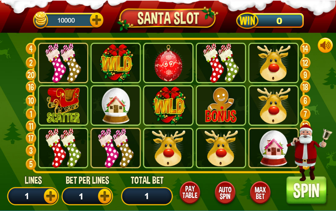 Santa's Gifts Slots - Play the Online Version for Free