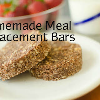 Homemade Meal Replacement Bars.