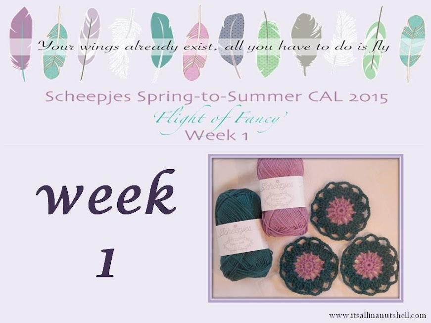 scheepjes cal spring to summer 2015 english video week 1