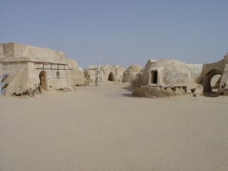 """Photo: Star Wars City (""""Mos Eisley/Tatooine"""") (Urheberrecht F. Schönweiß)"""