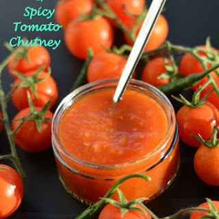 Sweet, Sour and Spicy Tomato Chutney.