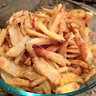 Crispy Baked Potato Fries.