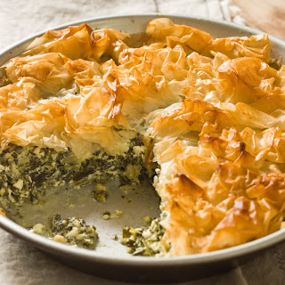 Spinach and Cheese Pie.