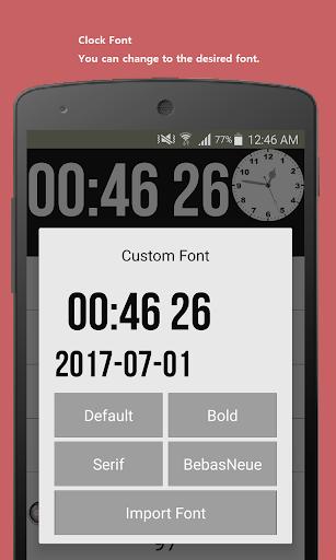Date seconds Widget 2.16 screenshots 3