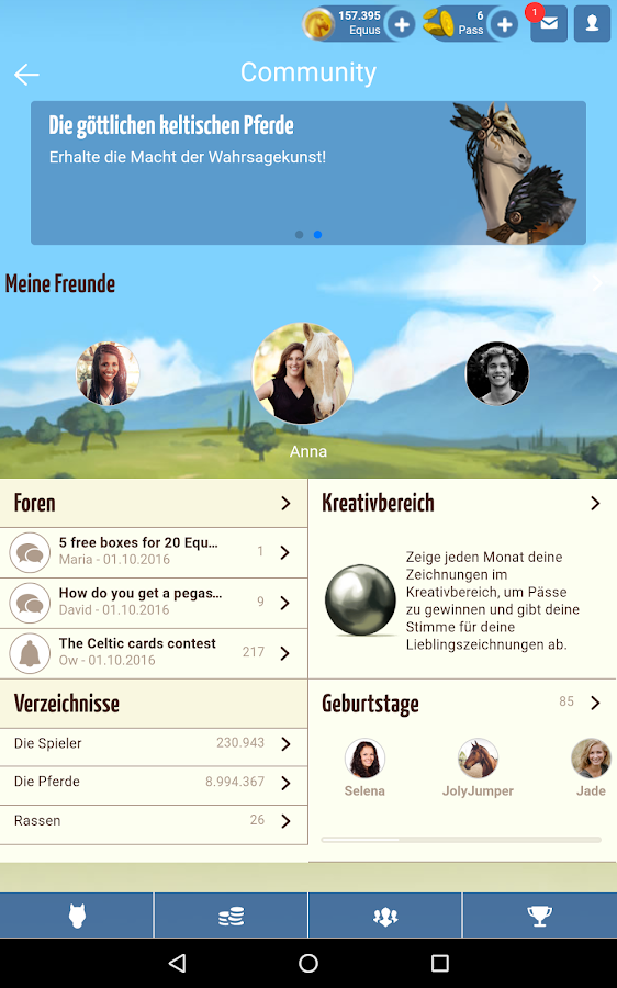 Howrse – Screenshot