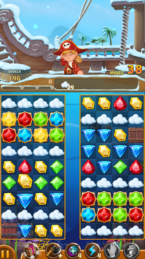 Télécharger Jewels Ocean : Une aventure de puzzle Match3 mod apk screenshots 5