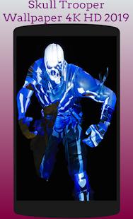 Skull Trooper Fornite Wallpaper 4k Hd 2018 Google Playల న