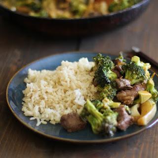 Broccoli Beef Korean Stir Fry