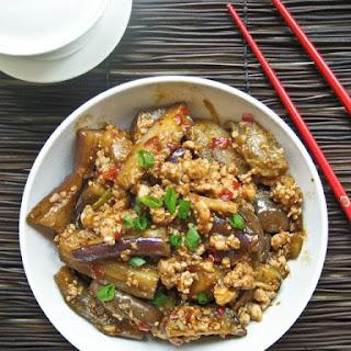 Spicy Sichuan Eggplant.