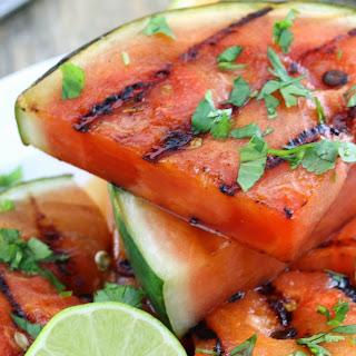 Cilantro-Lime Grilled Watermelon