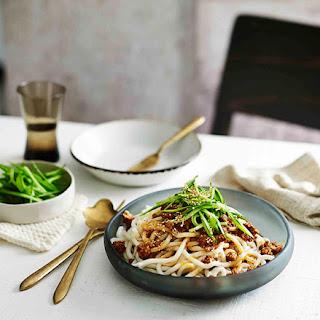 Minced Pork Noodles.