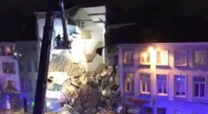 Image result for Two dead in suspected gas blast in Belgiums Antwerp police