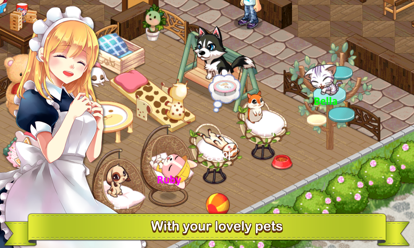 MyPetVillage- screenshot