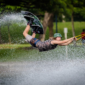 Wakeboarding by Mann Renzef - Sports & Fitness Watersports (  )