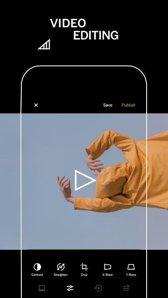 VSCO Screenshot Image