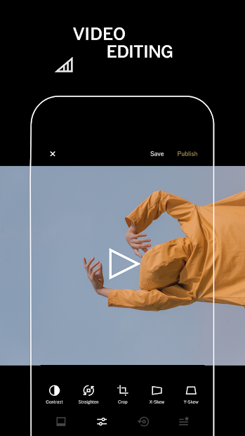 VSCO: Photo & Video Editor Android App Screenshot