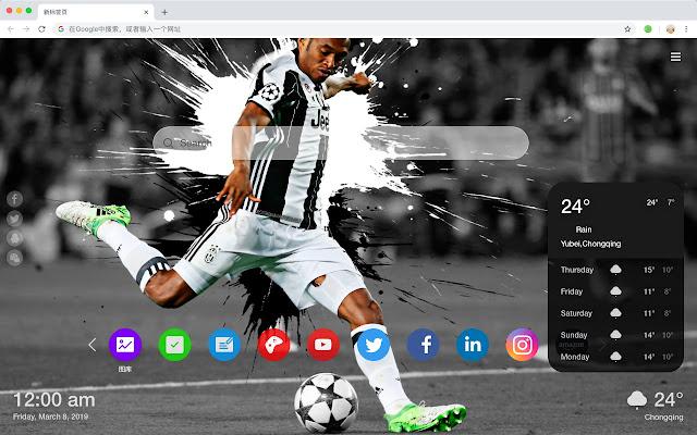 Juventus F C  Hot HD New Tabs Theme