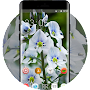 Emotional theme gentian speedwell veronica APK icon