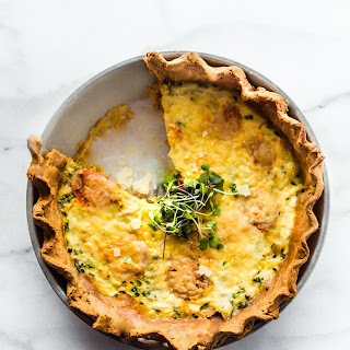 The Easiest Made From Scratch Quiche {Gluten Free}