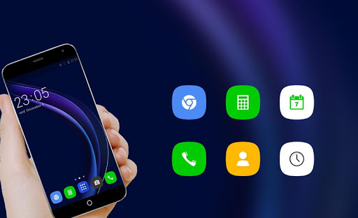 Theme for Huawei Honor 8/P8 HD Wallpaper Icon Pack  screenshots 4