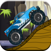 Hill Climb Monster Car 2
