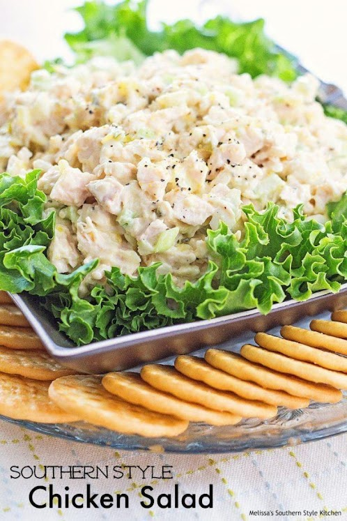 Click Here for Recipe: Southern Style Chicken Salad