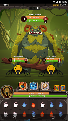 Questland: Turn Based RPG apkmr screenshots 7