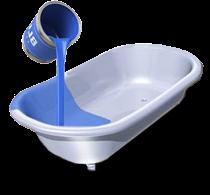 Наливная ванна (Наливным акрилом)