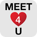 Meet4U - Chat, Love, Singles! icon