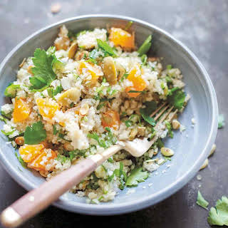 Celery Root Salad with Clementines.