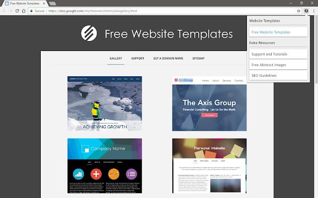 Free website templates chrome web store maxwellsz