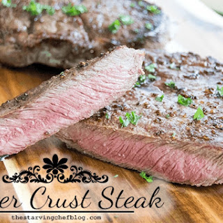Butter Ghee Crusted Steak
