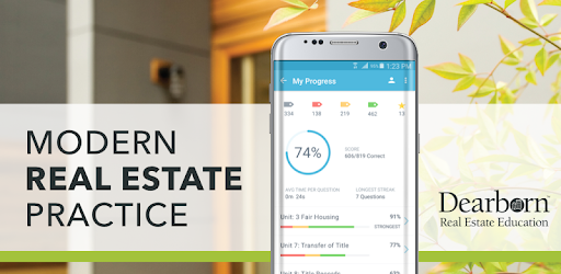 Dearborn Real Estate Exam Prep 2019 - Apps on Google Play