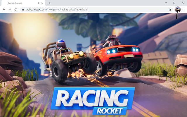 Racing Rocket Game