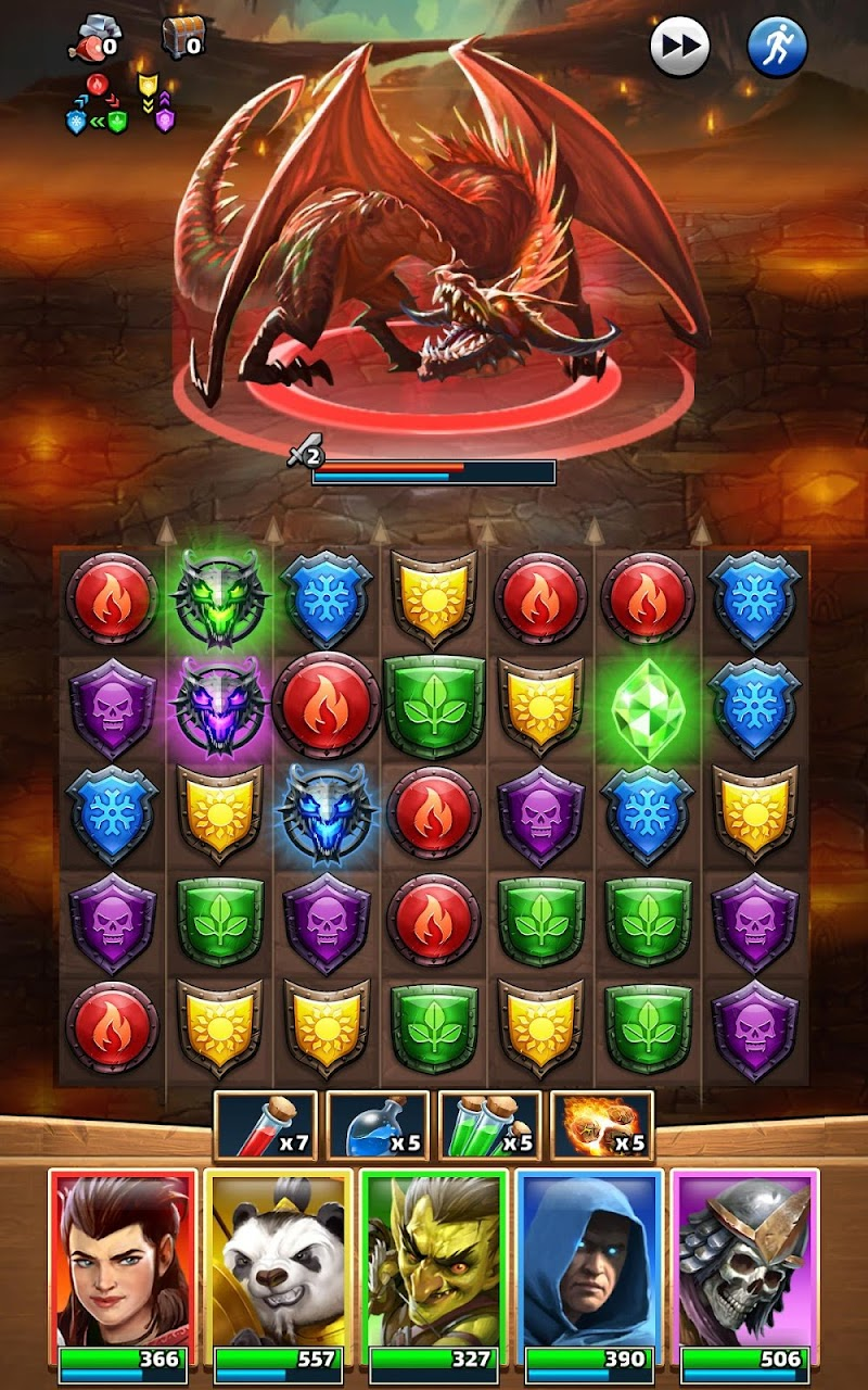 Empires & Puzzles: RPG Quest Screenshot 13