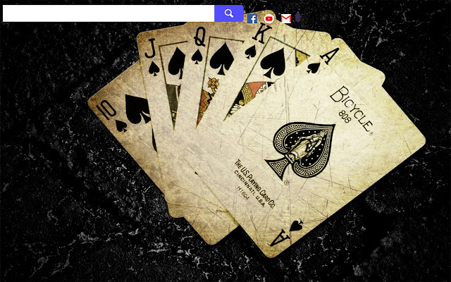 Poker Game HD Wallpapers New Tab.