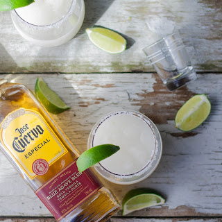 Slushy Lime Margaritas!.