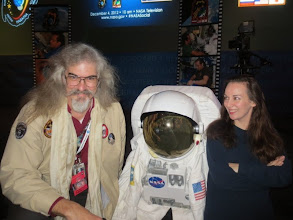 Photo: Great to see Emory (Flight SW lead for NASA's LCROSS program) again, last time was the STS-135 Shuttle launch!