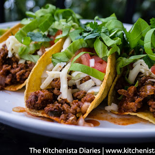 Ground Beef & Chorizo Tacos