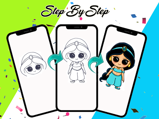 How to draw cute Princess 1.1 screenshots 2