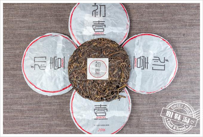 初壹茶品極品神木普洱生茶茶餅3